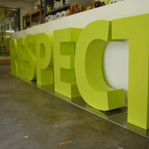 3D letters sign boards8