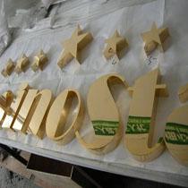 metal letters Name boards6