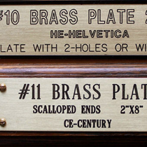 brass name plates12