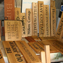 wooden name plates7